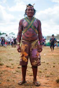 Guerreiro Krahô - Tocantins