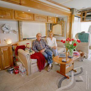 Bob Baumann (63) + Jeanie Baumann (66), from the series, Transience © Stephen Chalmers