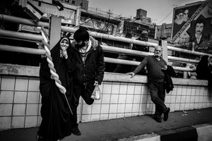 The day of the Iranian revolution _Daily life _Tehran 2012