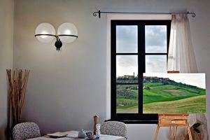 Breakfast, La Chiusa, Italy                          © Karen Strom