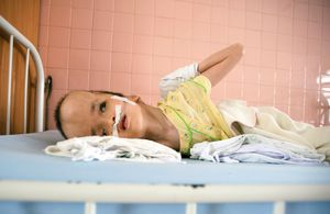 Physical deformities and swelling of the brain are common birth defects seen in children cared for at the ward.