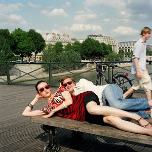 "Pierre, Lawyer  Pont des Arts, July 2007, from the series ""A Husband in Paris"" © Katarina Radovic"