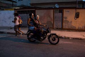 Carnaval in suburban of Rio de Janeiro