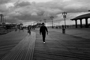 Black & White, Coney Island