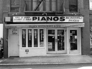 """Pianos"", New York City, 2011"