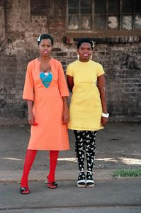 "Cindy and Nkuli, from the series, ""Beauty is in the Eye of the Beholder"" © Nontsikelelo Veleko. Courtesy Goodman Gallery"