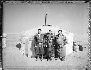 Owner of 700 Horses (Nomadic Mongolia #40), 2004. © Elaine Ling