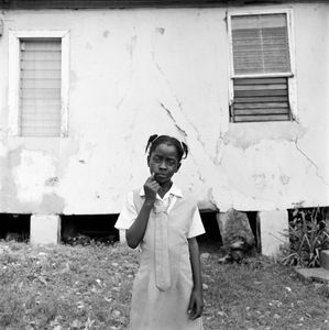 "School Girl. Kencot, Kingston, Jamaica. From the series ""Childhood Reveries""  © Brian Shumway"