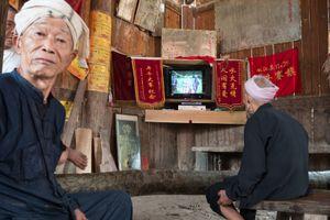 The Dong Villager, Congjiang, Guizhou, China.