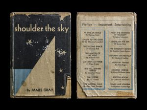 Shoulder the Sky, Covers Front & Back © Kerry Mansfield