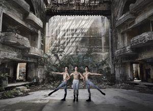 Triple talent - identical triplet ballet dancers, Marcos, Cesar and Angel Ramirez Castellano - Havana 2017