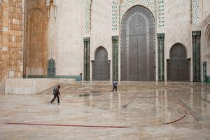 Atrium, Hassan II Mosque