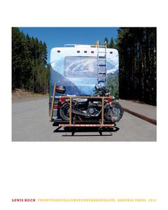 """Twentyone Yellowstone Parking Lots"" back cover © 2013, Lewis Koch"
