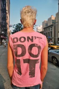 Don't Do It © Susan A. Barnett, 2009
