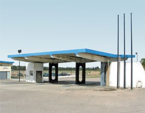 "Station #9, from ""Twentysix Abandoned Gasoline Stations"" © Eric Tabuchi"
