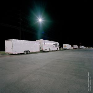 Gas station at night, from the series, Transience © Stephen Chalmers