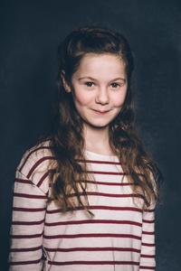 Lara aged 12.