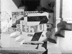 """Soda advertisement, Udaipur, Rajasthan, India, 1996, from """"Touchless Automatic Wonder""""  © 2009, Lewis Koch"""