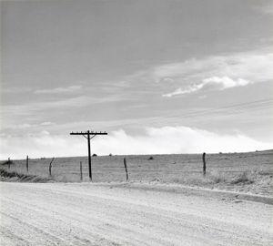 Near Peyton, Colorado. 1968. © Robert Adams. Image courtesy of Fraenkel Gallery.