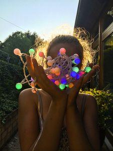 Daughter with Bulbs © Jürgen Novotny 2014