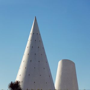 White sculptures