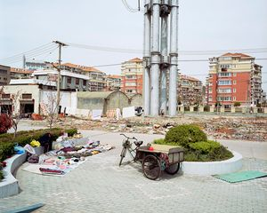Urban Renewal #9, Medium Density Suburb, Shanghai, 2004 © Edward Burtynsky