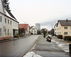 Gundremmingen town and power plant © Michael Danner