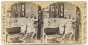 Ein Einbrecher (An Intruder), 1897. Courtesy of Museum Fur Kunst und Gewerbe.