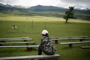 Village birthday in Altay