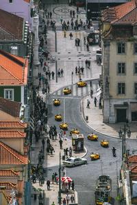 Yellow Procession