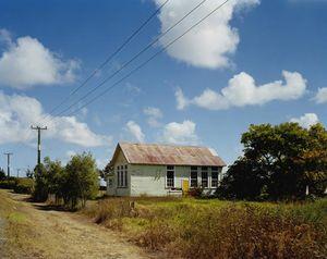 Te Uri Ohina Marae, Kaitaia-Awaroa Road, Northland, 12:30pm, 7th April, 2004. © Derek Henderson
