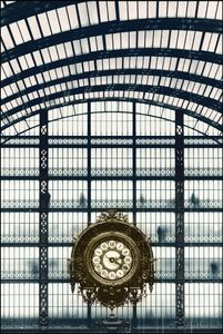 Paris, Musee dOrsay, former train station