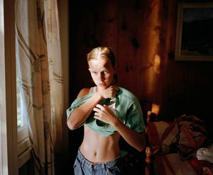 Katie by the window, 1997. © Blake Fitch