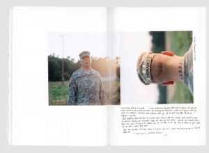 "Sam Provance joined the U.S. Army in 1998. He was deployed to Iraq in 2003. He was based at Abu Ghraib for 5 months. Sam disobeyed direct orders from his commanders and was demoted. Eventually, he was honorably discharged. From the photobook ""The Grey Line"" © Jo Metson Scott"