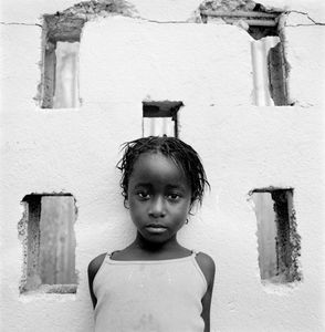 "Shy Girl. Trenchtown. Kingston, Jamaica. From the series ""Childhood Reveries""  © Brian Shumway"