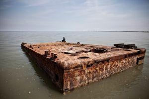 Sunken dock