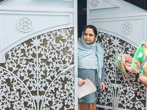Still unsure. Jammu, JK, 2014.