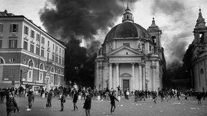 Rome, Italy (2010).  Clashes.