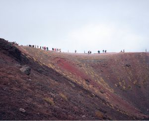 On Mount Etna, Sicily, 2007