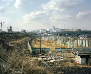 "Yuzhnoe Tushino II, 2010. From the series ""Pastoral: Moscow Suburbs"" © Alexander Gronsky/INSTITUTE"