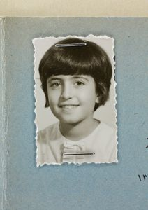 Afsaneh Mobasser, age 10