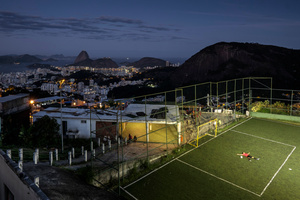 """Morro dos Prazeres"" community football field"