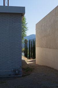 Six Italian Cypresses, Foothill Blvd, La Crescenta