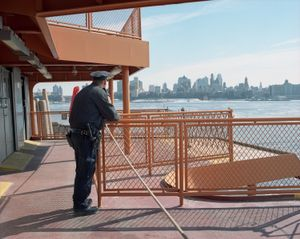 Police Officer, Staten Island Ferry, 2014
