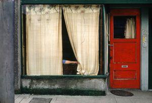 © Fred Herzog, Curtains, 1972. Equinox
