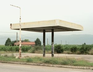 "Station #3, from ""Twentysix Abandoned Gasoline Stations"" © Eric Tabuchi"