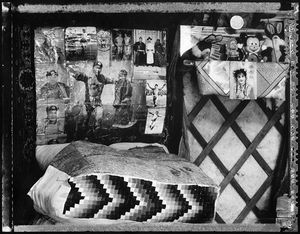 Ger Memorabilia (Nomadic Mongolia #15), 2002. © Elaine Ling