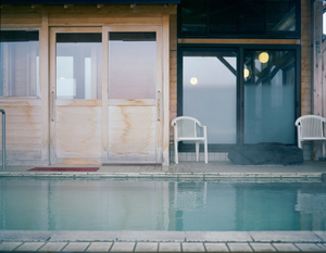 "Pool and Moon from series ""Being Present,"" 2012. Pigment print © Krista Mölder. Exhibitor: Temnikova and Kasela gallery"