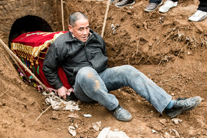 Burying the coffin