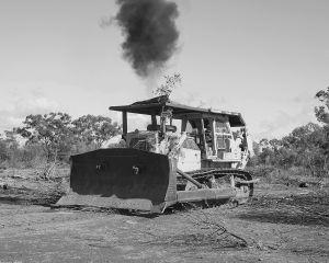 Bulldozer,  Marlee Downs, Mitchell, QLD Australia, 2015.